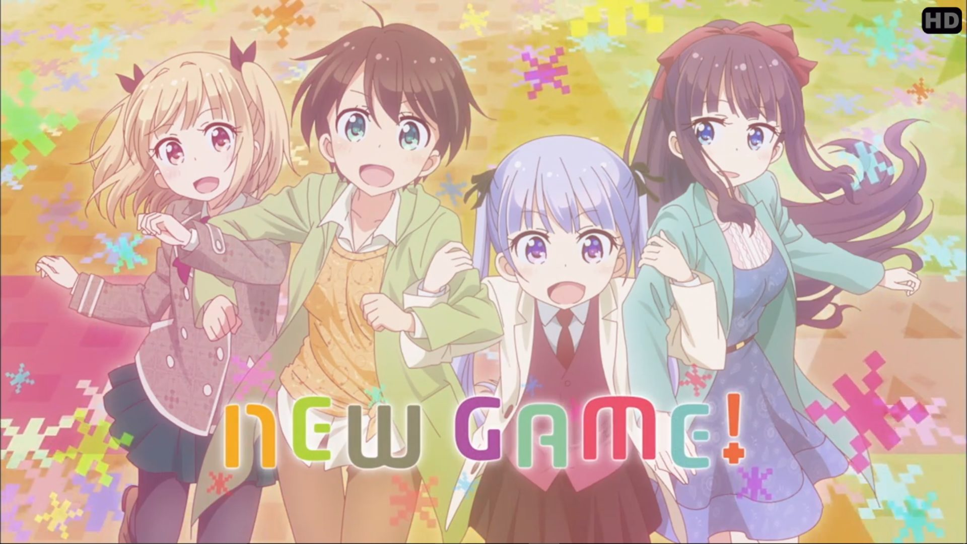 New Game Is A Slice Of Life Comedy Anime