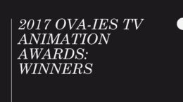 Winners: 2017 OVA-ies TV Animation Awards