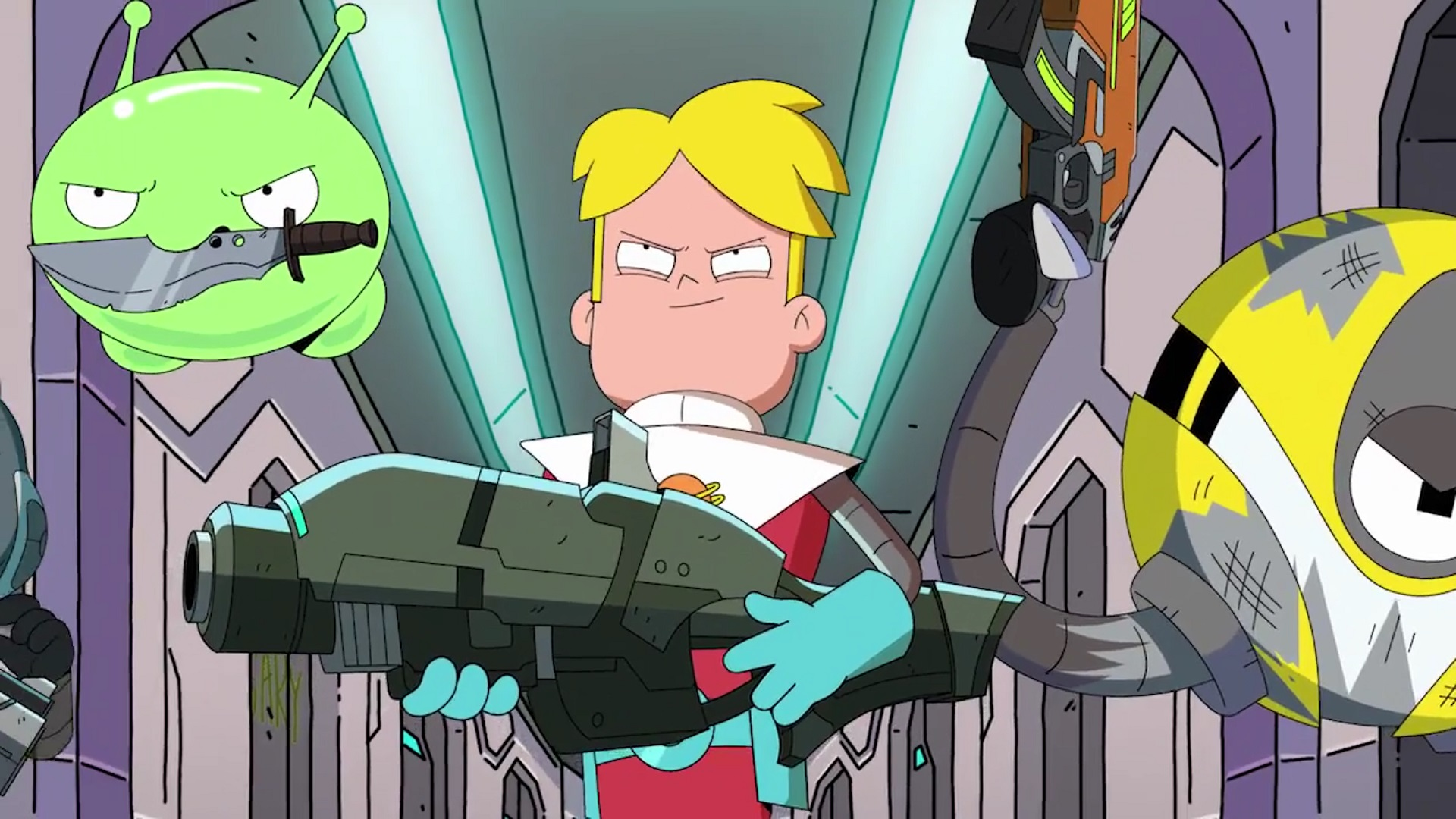 Chapter seven recap final space overly animated podcast - Final space wallpaper ...