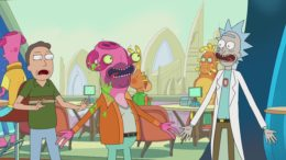 """The Panel for """"The Whirly Dirly Conspiracy"""" – Rick and Morty"""