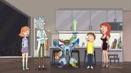 """Panel for """"Rest and Ricklaxation"""" – Rick and Morty"""