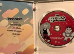 """Steven Universe: The Heart of the Crystal Gems"" DVD is a Bare-Bones Collection of Fantastic Episodes"