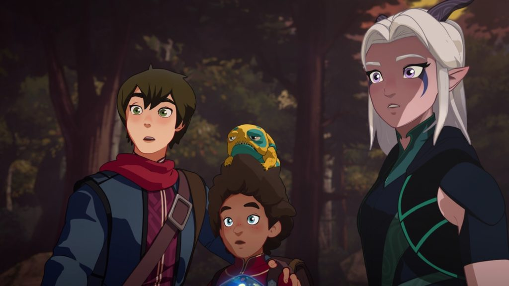 The dragon Prince 2018 X reader quotev fanfictions
