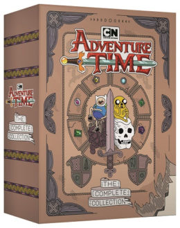 "Cartoon Network Presents ""Adventure Time"" from the Very Beginning"