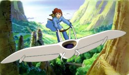 Nausicaä and Frozen II: Courage and Peace in the Valley and the Fjord