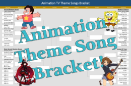 Animation TV Theme Song Bracket